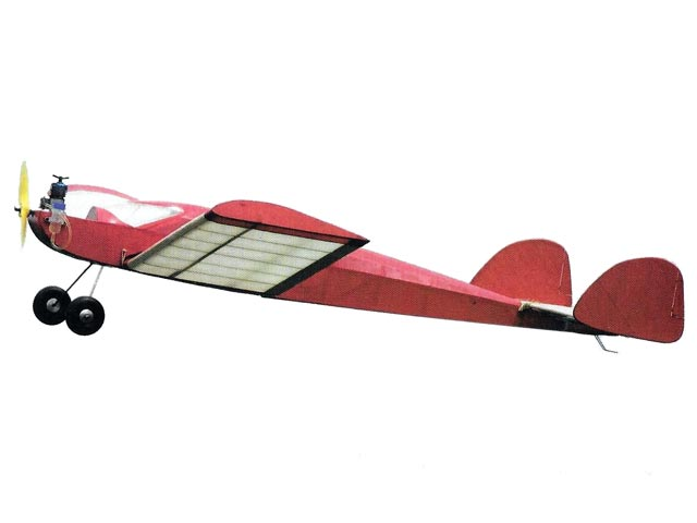 Meson MkIV (oz1491) by OFW Fisher from Model Aircraft 1955