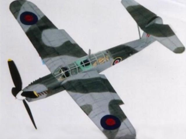 Fairey Barracuda  - completed model photo