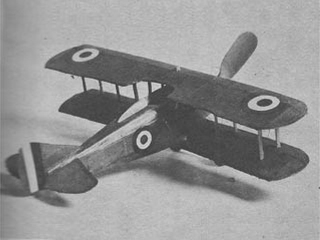 Spad 13-C1 (oz1501) by Joseph Wherry from Model Airplane News 1947