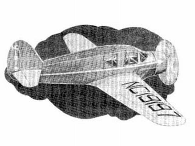 Bellanca Junior (oz1503) from Peerless 1938
