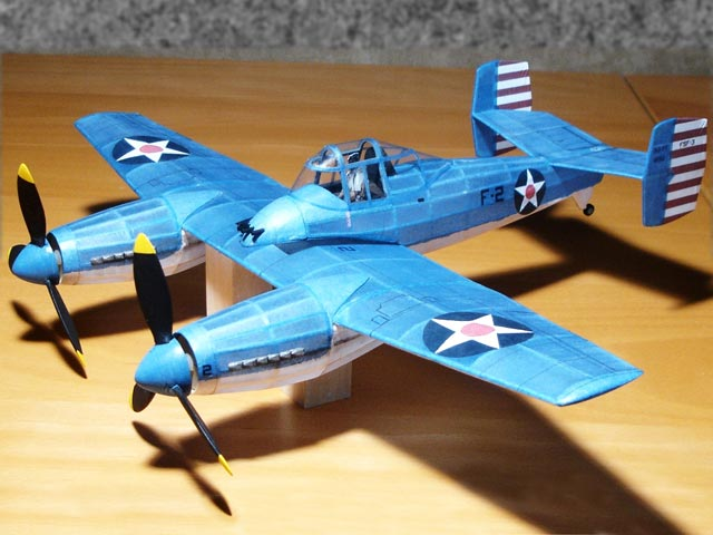 Grumman Skyrocket (oz1507) from Megow Models 1940
