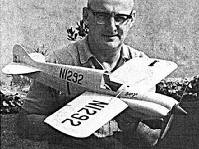 Bonzo (oz1514) by Victor Harden from Model Airplane News 1968