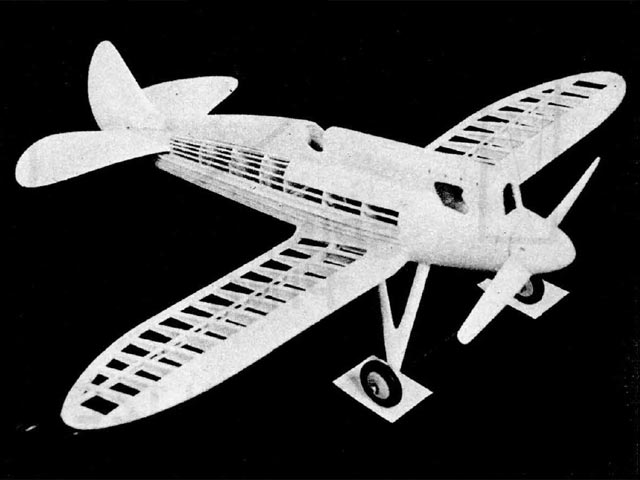 Howard Pete (oz1521) by Frank Ehling from Model Airplane News 1945