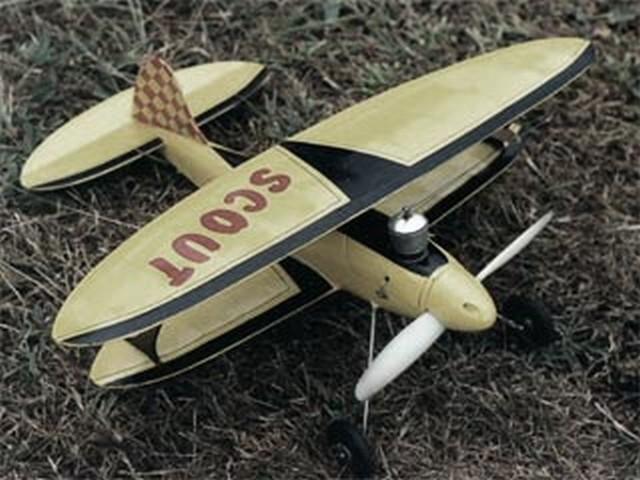 Scout (oz1533) by Bill Dean from Keil Kraft 1947