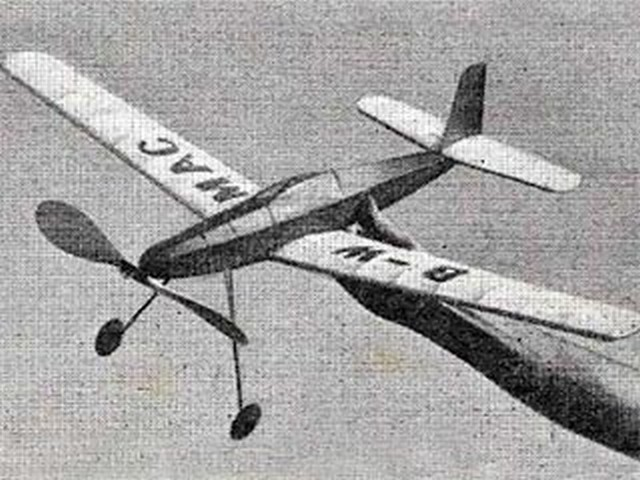 Estrellita (oz1538) by George Woolls from Aeromodeller 1956