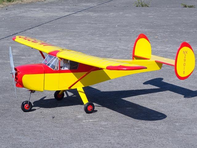 General Aircraft Skyfarer (oz1540) by Vern Schroeder from RCMplans 1969