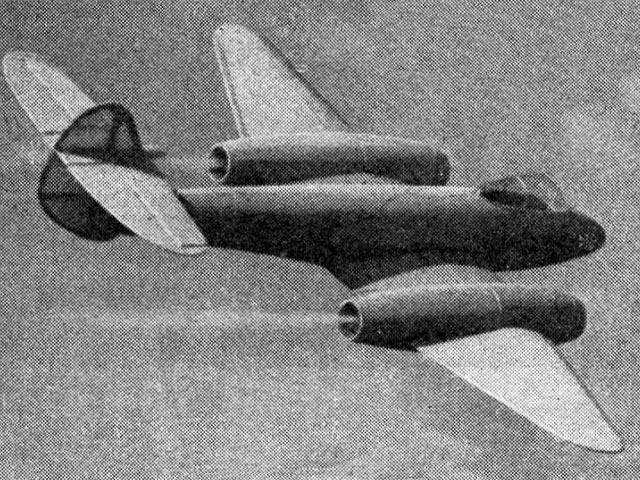 Meteor IV (oz1552) by Aeromodeller Staff from Aeromodeller 1948