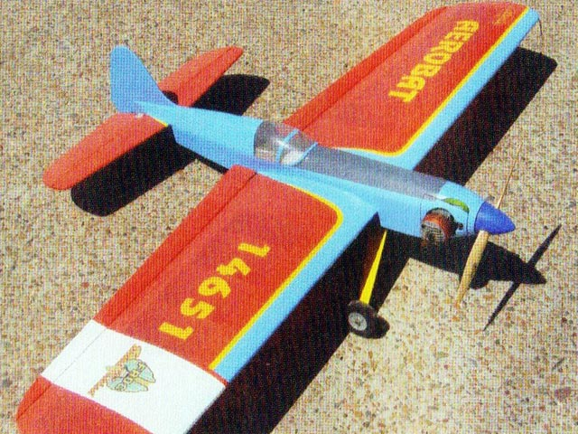 Aerobat - completed model photo