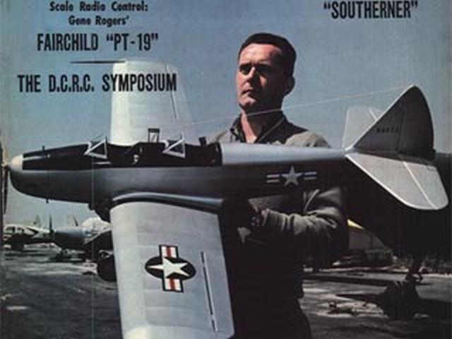 Fairchild PT-19 (oz1603) by Gene Rogers from Flying Models 1967