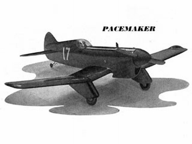 Pacemaker (oz1608) by S Rymill from Aeromodeller 1953