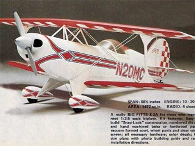 Pitts S-2A 60 (oz1630) by Y Matsumoto from OK Model Pilot