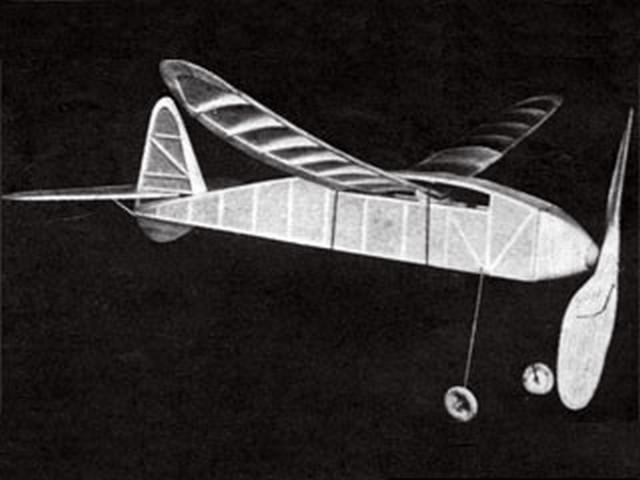 American Zipper (oz1631) by Walter Kahn from Air Trails 1939