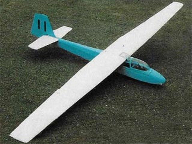 Slingsby Eagle 3 - completed model photo