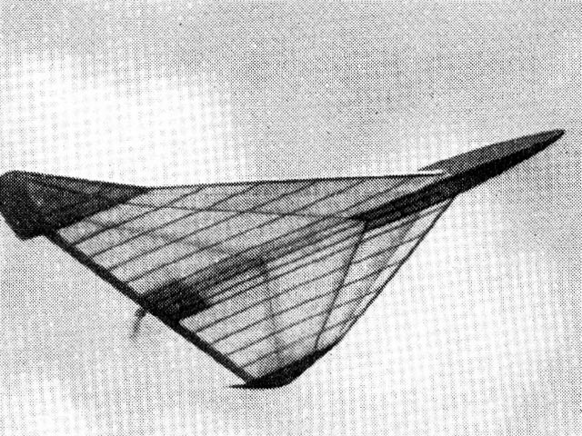 Delta 1 (oz1649) by JN Lancaster from Aeromodeller 1952