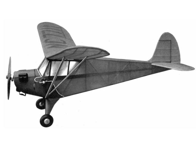 Aeronca Tandem (oz1657) by Ronnie Albert from Air Trails 1942