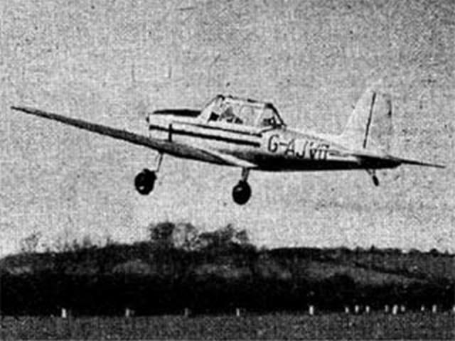 Chipmunk (oz1670) by John Greenland from Aeromodeller 1948