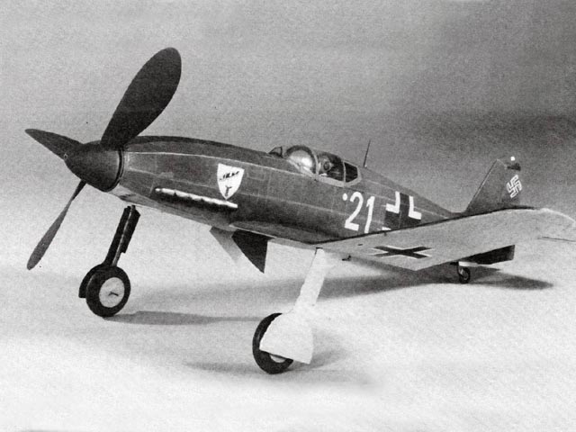 Heinkel He 100D - completed model photo