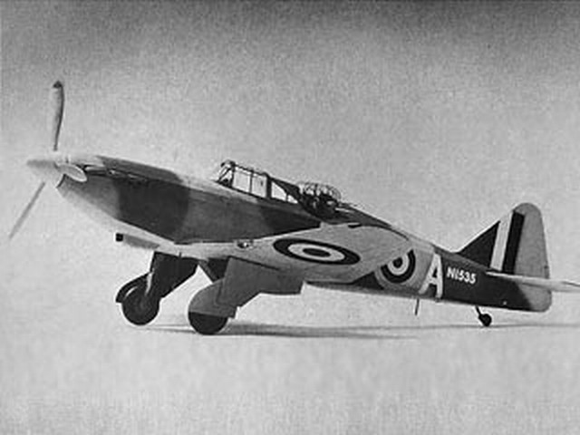 Boulton Paul Defiant (oz1688) by Bill Harney from Golden Age Reproductions 1980