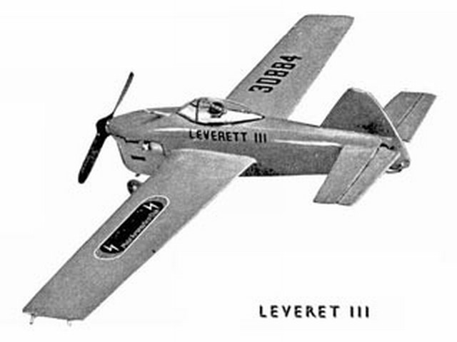 Leveret III (oz1702) by G Cornell from Model Aircraft 1962