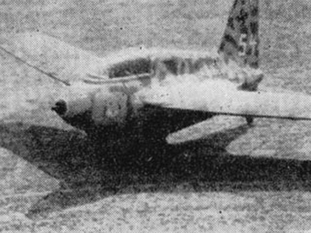 Me 163 Komet (oz1721) by Dennis Rattle from Aeromodeller 1966