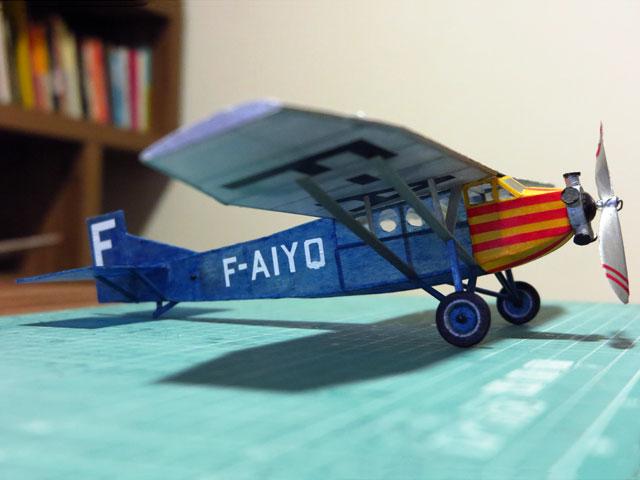Farman F190 (oz1722) by Dave Linstrum