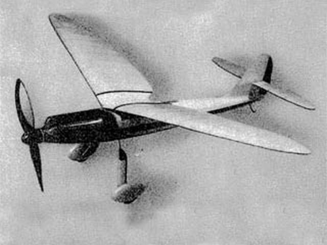 Jagdeinsitzer HSB 21 (oz1747) by HFA Schelhasse from CJE Volckmann 1936