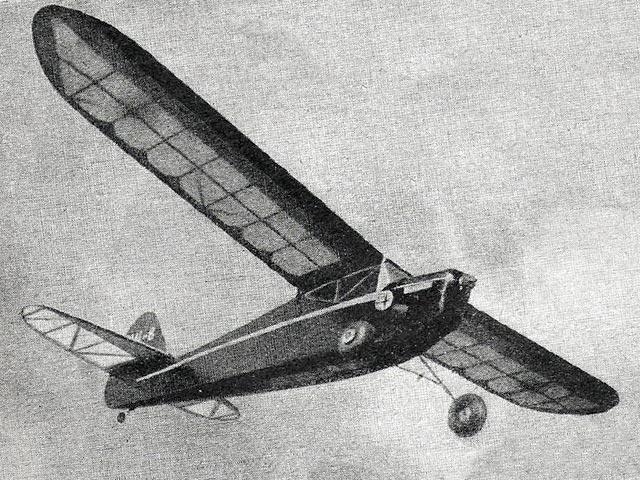 Black Magic (oz1767) by Fred Hempsall from Aeromodeller 1947