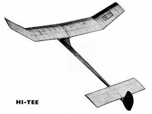 Hi-Tee (oz1781) by John O'Sullivan from Model Aircraft 1963