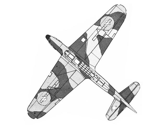 Fairey Fulmar (oz1790) by Dave Diels from Aeromodeller 1984