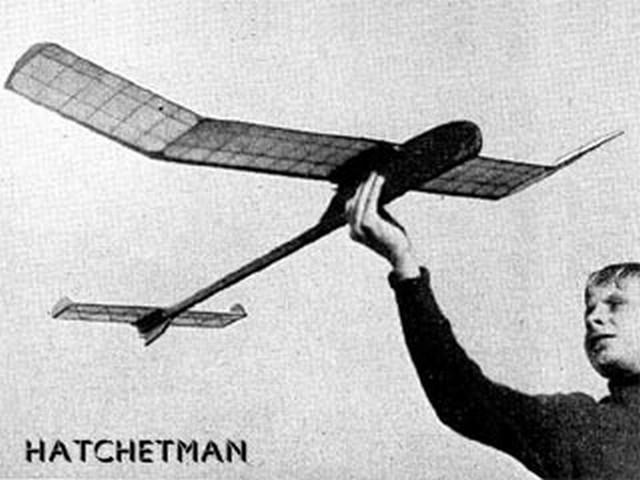 Hatchetman - completed model photo
