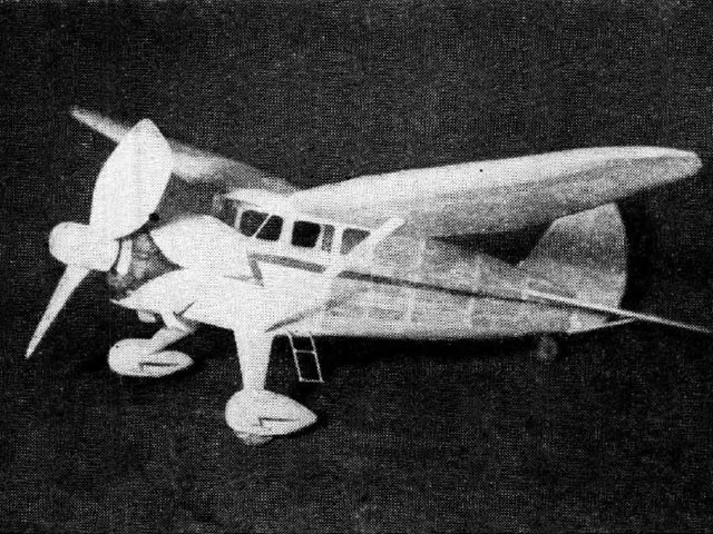 Stinson Reliant  (oz182) by Alan Booton from Air Trials 1937