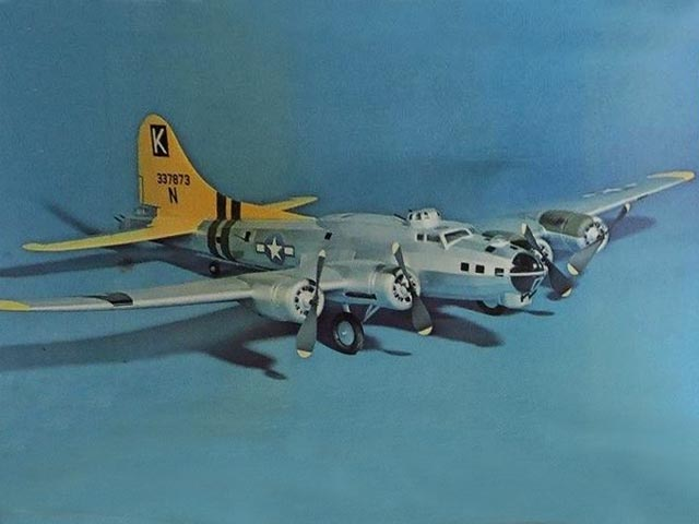 Boeing B-17G Flying Fortress - completed model photo