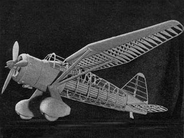 Westland Lysander (oz1857) by Howard Boys from Aeromodeller 1958