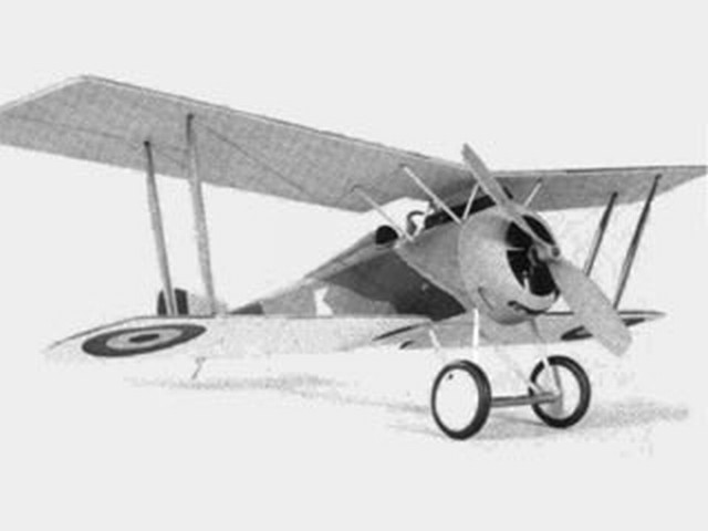 Hanriot HD-1 (oz1866) by Bill Dennis from Aeromodeller 1985