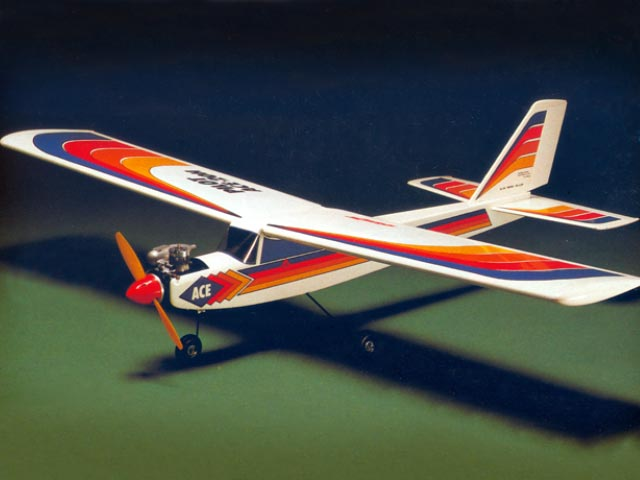 Ace-20H (oz1881) by Y Matsumoto from OK Model Pilot 1985