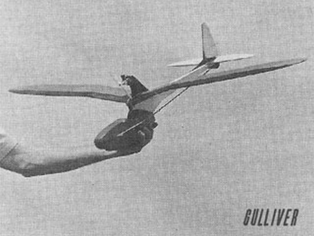 Gulliver (oz1903) by Ted Strader from RCMplans 1964
