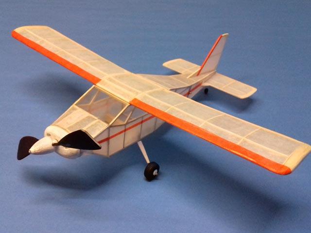 Bede BD-4 - completed model photo