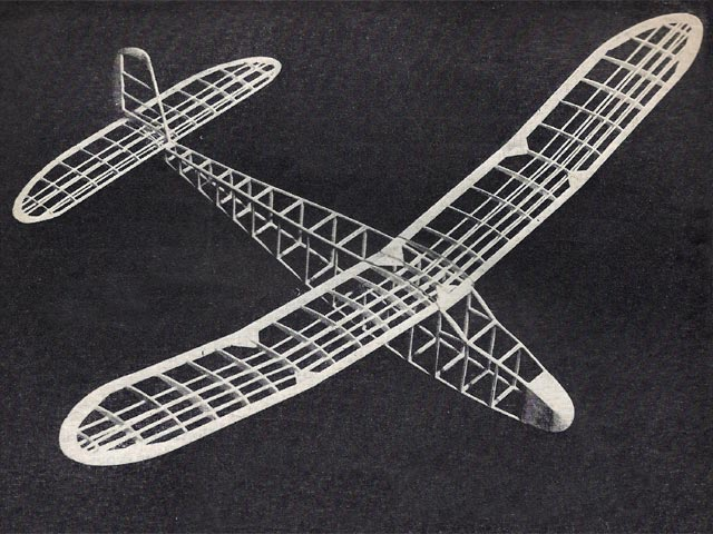Jersey Skeeter - completed model photo