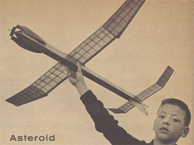 Asteroid (oz1922) by George Perryman from Model Airplane News 1959