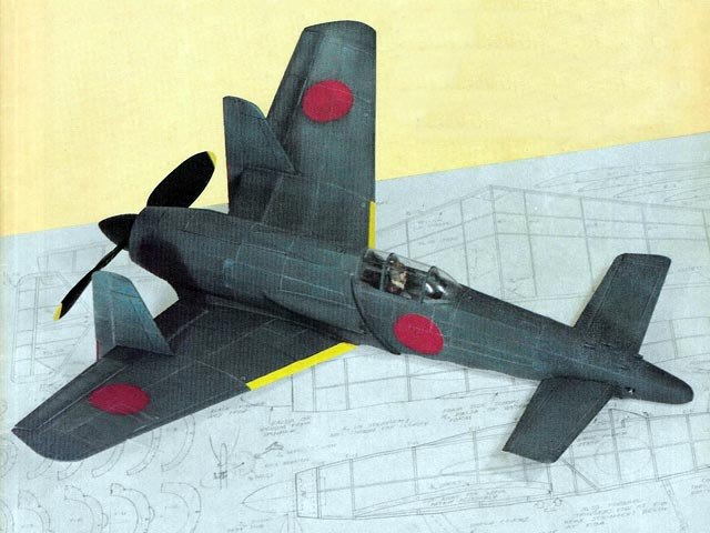 Shinden (oz1924) by Don Srull from Flying Models 1981