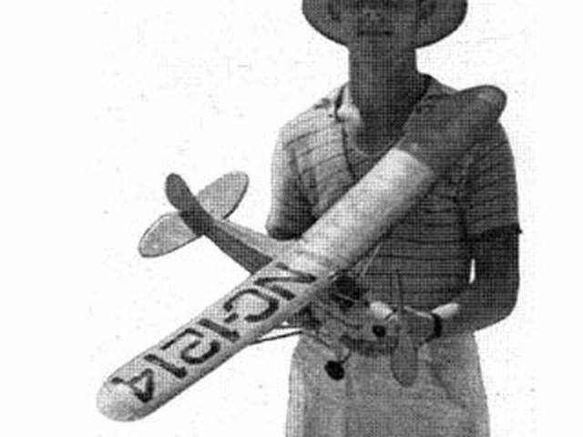 Taylor Cub (oz193) by Roger Hammer from Air Trails 1940
