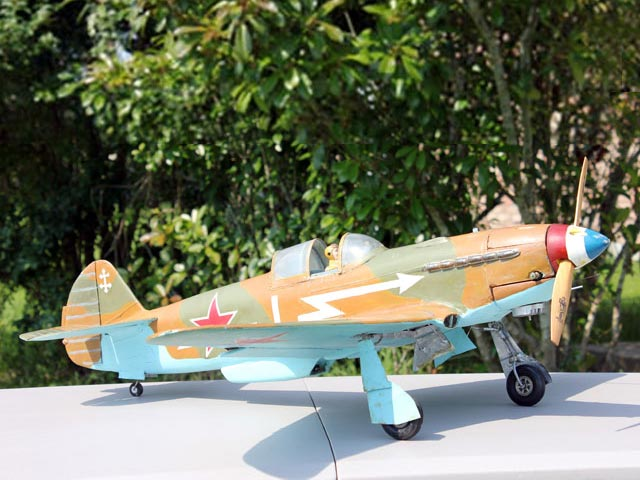 Yak-3 - completed model photo