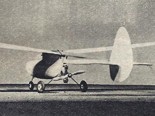 Bumblebee (oz1941) by RA Tessier from Model Airplane News 1946