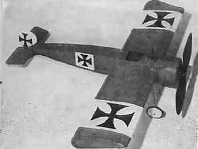 Fokker EIII (oz1965) by John Simmance from Aeromodeller 1964