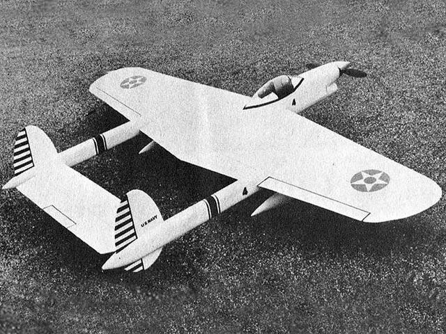 Crusader (oz1970) by Charles Mackey from Flying Models 1962