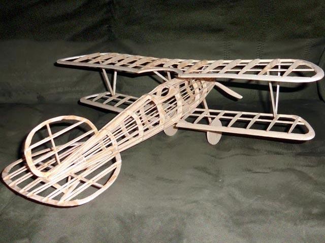 Albatros DVa - completed model photo