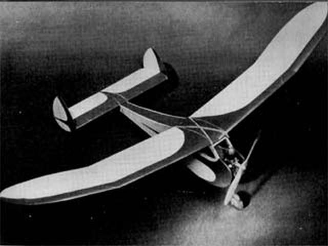 Classy Gassy II (oz2) by Walt Musciano from Model Plane Manual 1952