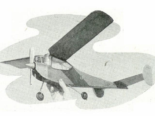 Wyvern (oz2002) by Geoff Dunmore from Aeromodeller 1951