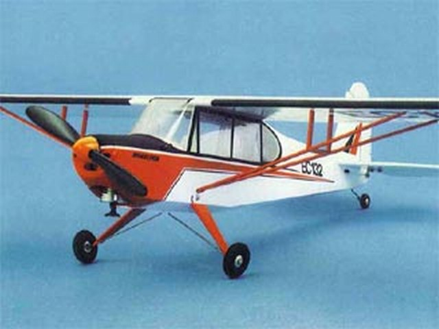 Aeronca Champion - completed model photo