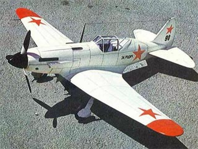 MiG-3 (oz2045) from Modelhob 1979